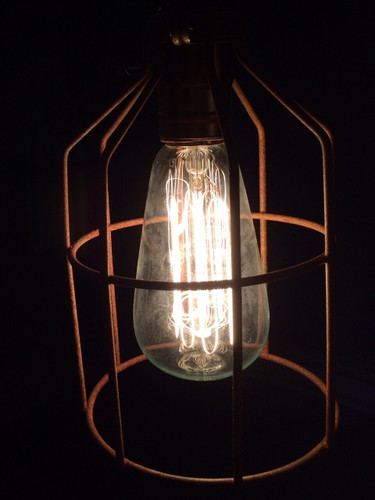 Old Fashioned Hanging Light Fixture