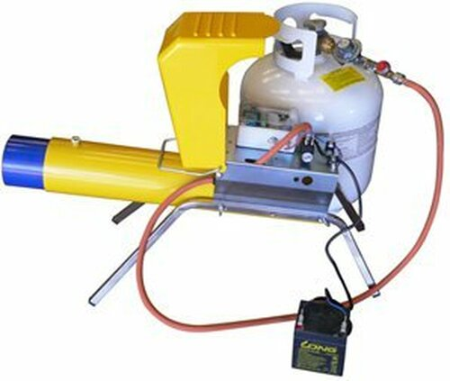 Boom Cannon Deluxe W/Motion Sensor & Prop Controller Propane Powered Startle Prop
