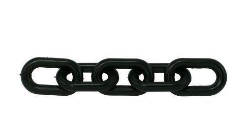 "1.5"" Black Plastic Haunted House Chain"
