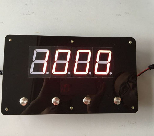 4-Button Digital Password Panel (w/ Audio) Magnetic Lock INCLUDED- Escape Room Prop