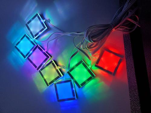 7-Color Password Sensors (w/ Audio) 7 Sensors - Escape Room Prop