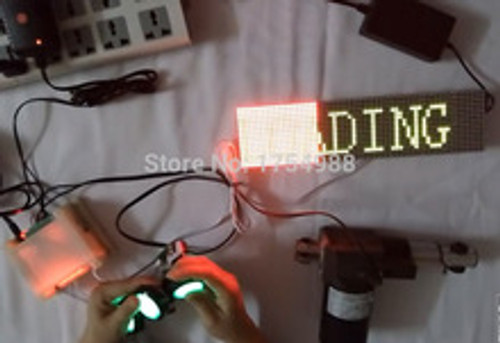 Fill the LED Display Grid Escape Room Prop