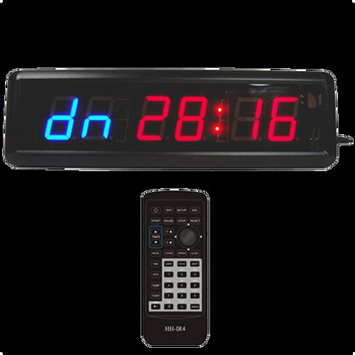 6-Digit LED Digital Countdown Wall Clock - Escape Room Prop