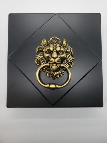 Rotate the Lion Door Knocker - Escape Room Prop