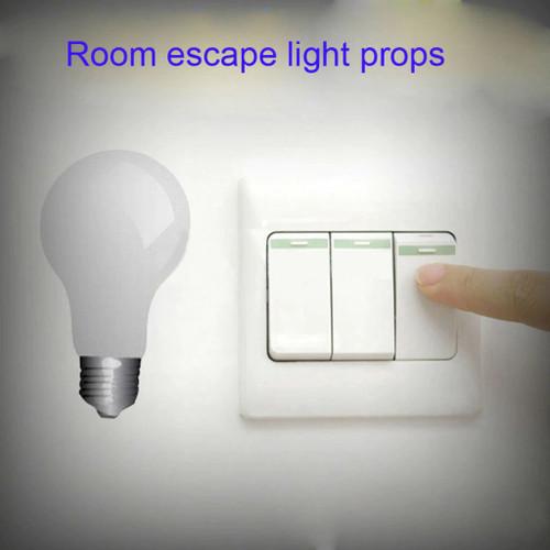 4-Way LED Light Switch Escape Room Prop (w/ Audio)