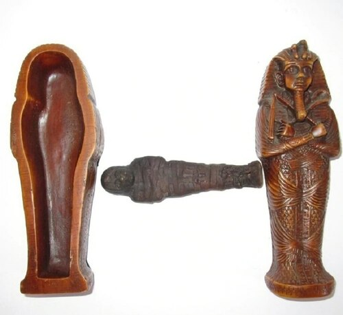 Egyptian King Tut Tomb Box - Escape Room Prop