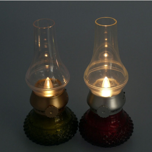 Adjustable Vintage Design LED Lamp - Escape Room Prop (USB Rechargeable)