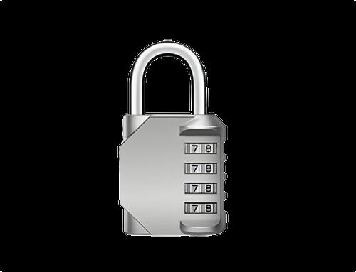 4-Dial Number Combination Padlock