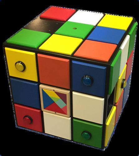 The Escape Cube Escape Room Prop