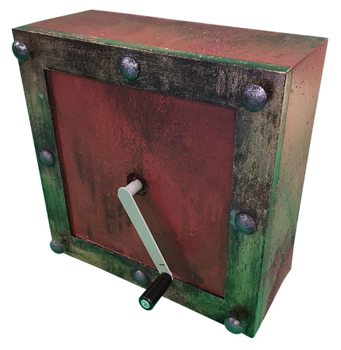 Deluxe Hand Crank Power Escape Room Prop