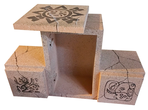 Triple Aztec Box - RFID Escape Room Prop
