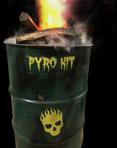 Pyro Kit Escape Room Prop