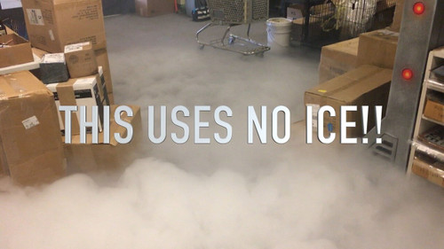 Water Based Low Ground Fog Machine - No Ice!