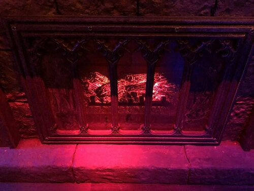 Fireplace Escape Room Prop