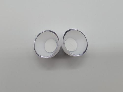 Pair of Brown Eyes- 2.5 cm- Replacement Eyeballs