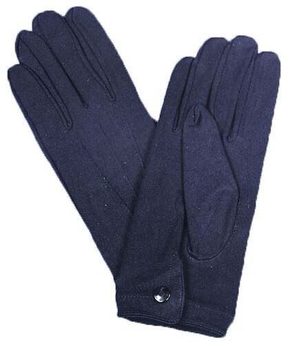 GLOVES NYLON W SNAP MENS BLACK