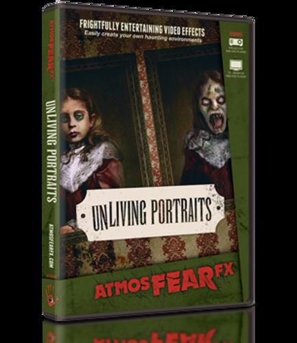 Unliving Portraits Halloween DVD