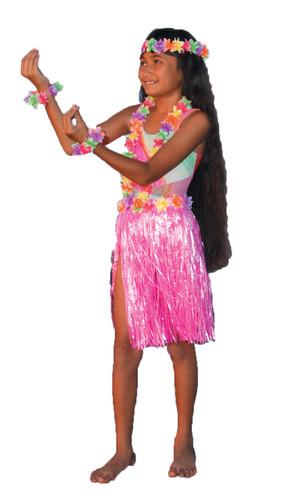 ALOHA SET PINK CHILD/TEEN