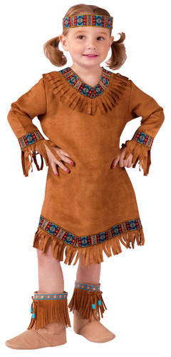 AMERICAN INDIAN GIRL TOD 3T-4T