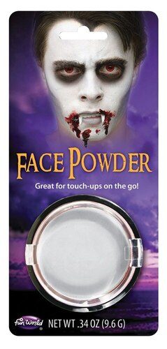 WHITE POWDER MAKEUP