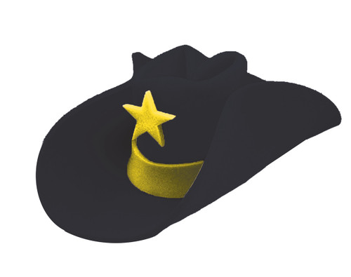 40 GALLON HAT BLACK