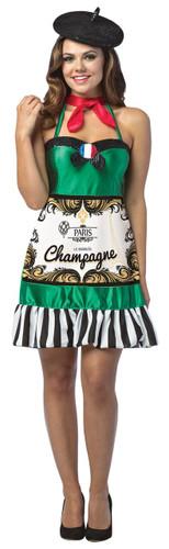 CHAMPAGNE DRESS ADULT
