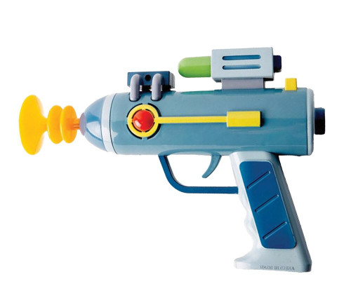 LASER GUN MORTY