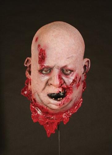 Fat Zombie Head Halloween Prop