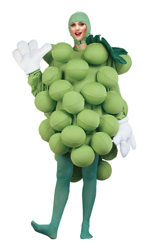GRAPES GREEN ADULT COSTUME