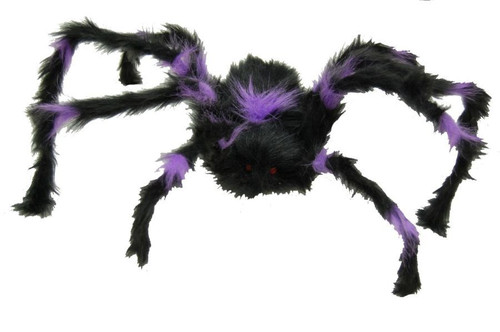 Poseable Hairy Spider (30 Inches) Halloween Prop
