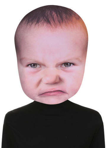 BABY ANGRY FACE