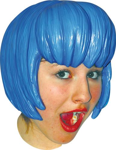 WIG ANIME 6 LATEX BLUE