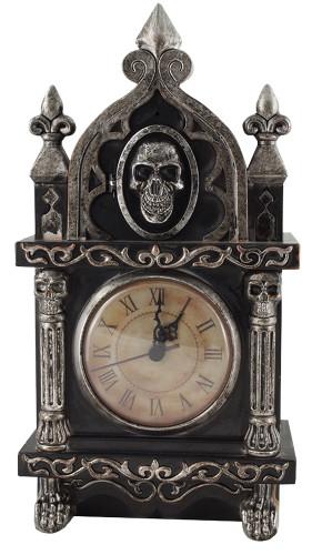 HAUNTED RAVEN CLOCK ANIMATED