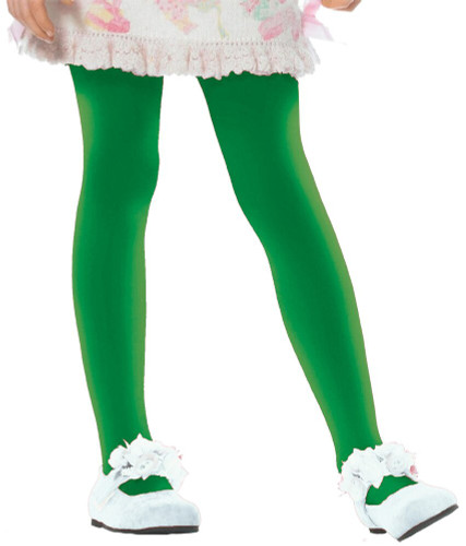 TIGHTS CHILD GRN MED SZ 4 TO 6