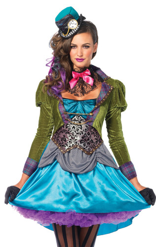 MAD HATTER DLX ADULT SMALL