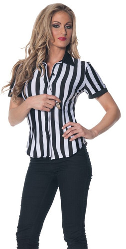 REFEREE FITTED SHRT WOMEN SM