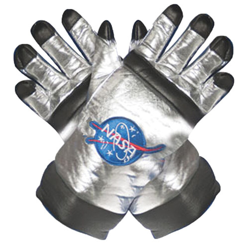 ASTRONAUT GLOVES AD SILVER