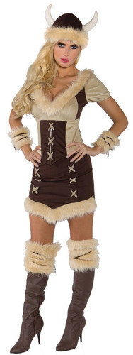 VIKING QUEEN ADULT LARGE