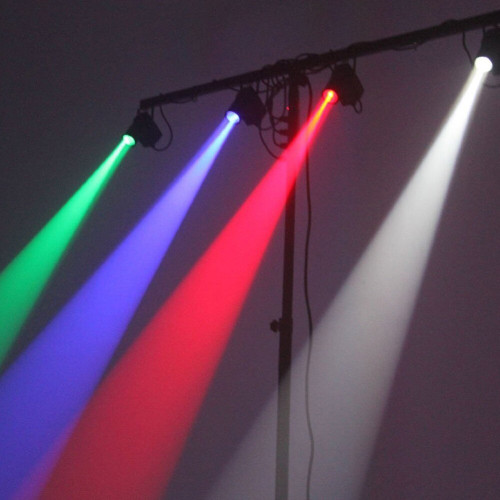 Ghostlight Mega RGB Pinspot with DMX