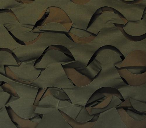 Camo Net with Netting (10x10 Feet - Green & Brown) Halloween Decoration Decor Cloth