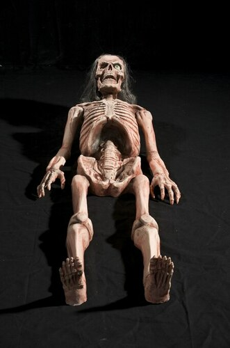 Bones Halloween Prop Animated