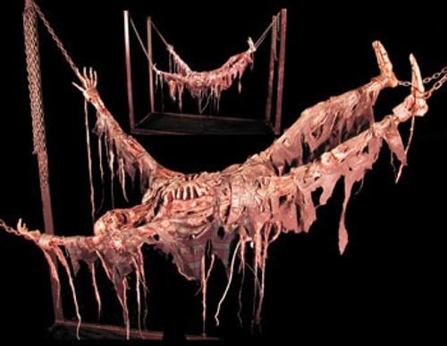 Animated Suspended Skeleton