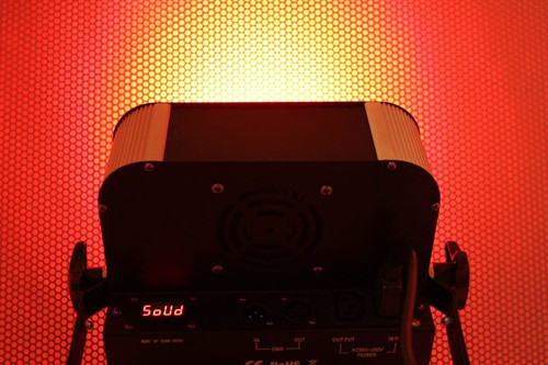 High-Powered LED DMX Color-Changing Strobe