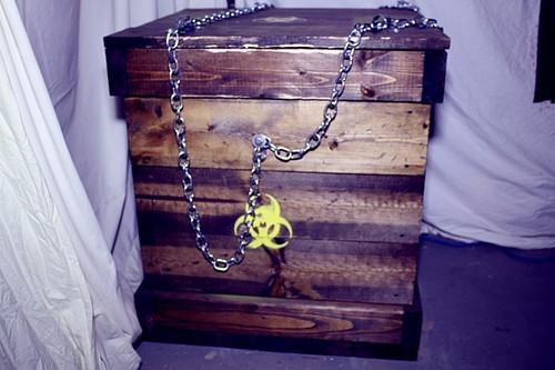 Creature Crate / Beast Box Mech KIT Halloween DIY Pneumatic Animatronic