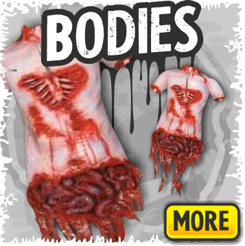 Gory Body Halloween Props