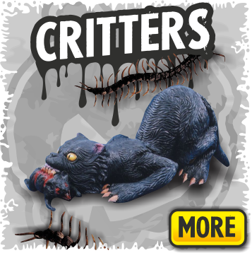 Scary Animal Decorations & Halloween Critters