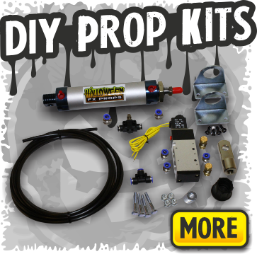 DIY Pneumatic Prop Kits & Mechs for Home Built Halloween Props