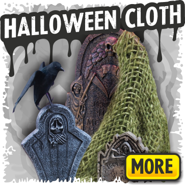 Halloween Creepy Cloth Decorations