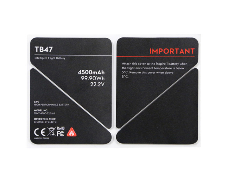 Inspire 1 TB47 Sticker Battery Insulation