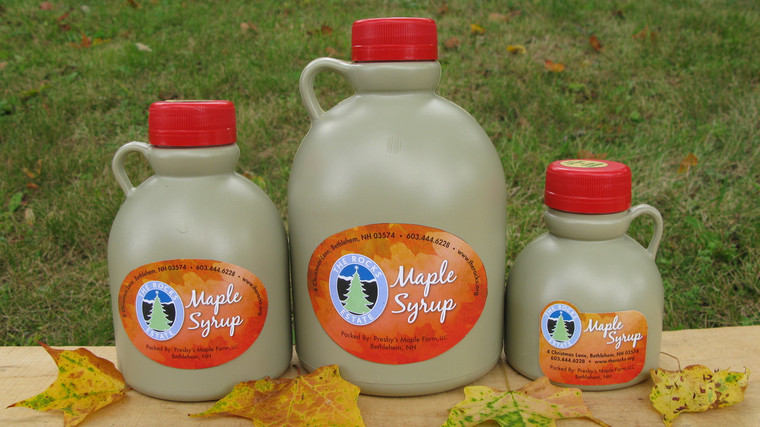 The Rocks Maple Syrup - half pint size